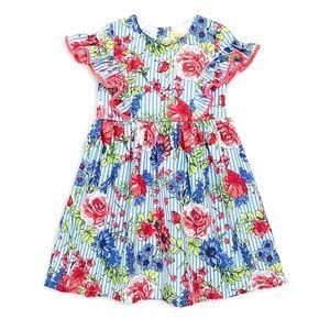 Penelope Mack Big Girls Floral Cotton Dress
